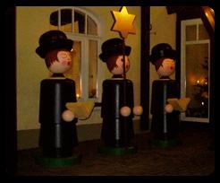 Silvester im Erzgebirge - Kurrende in Seiffen am Hotel Seiffener Hof