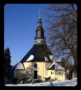 Silvester im Erzgebirge - Seiffen - Seiffener Kirche